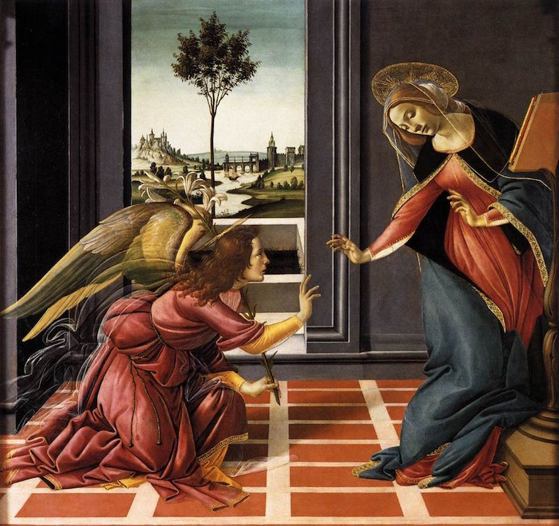 Botticelli painting