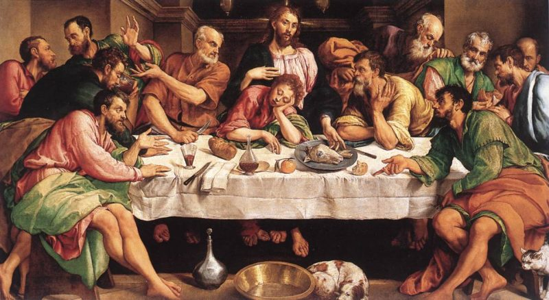last supper painting bassano