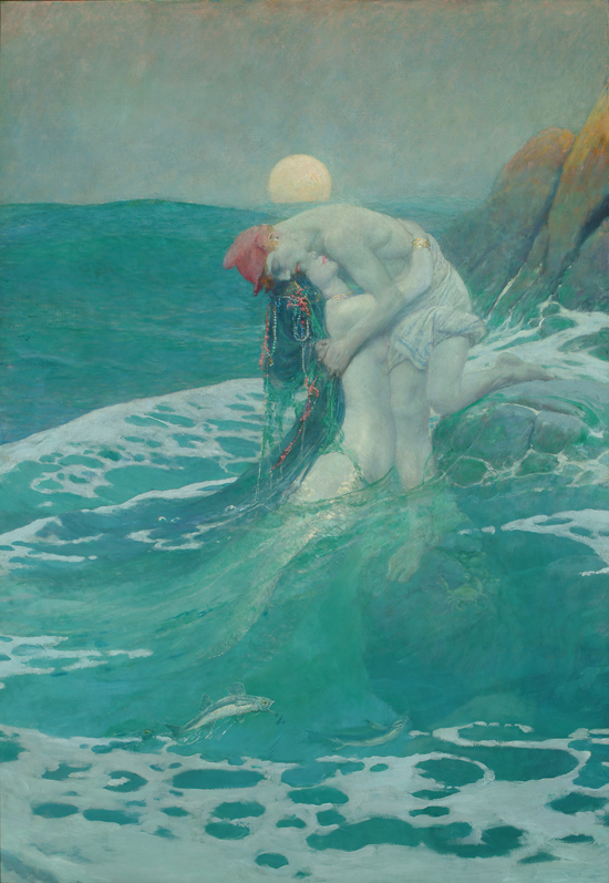 Howard Pyle painting