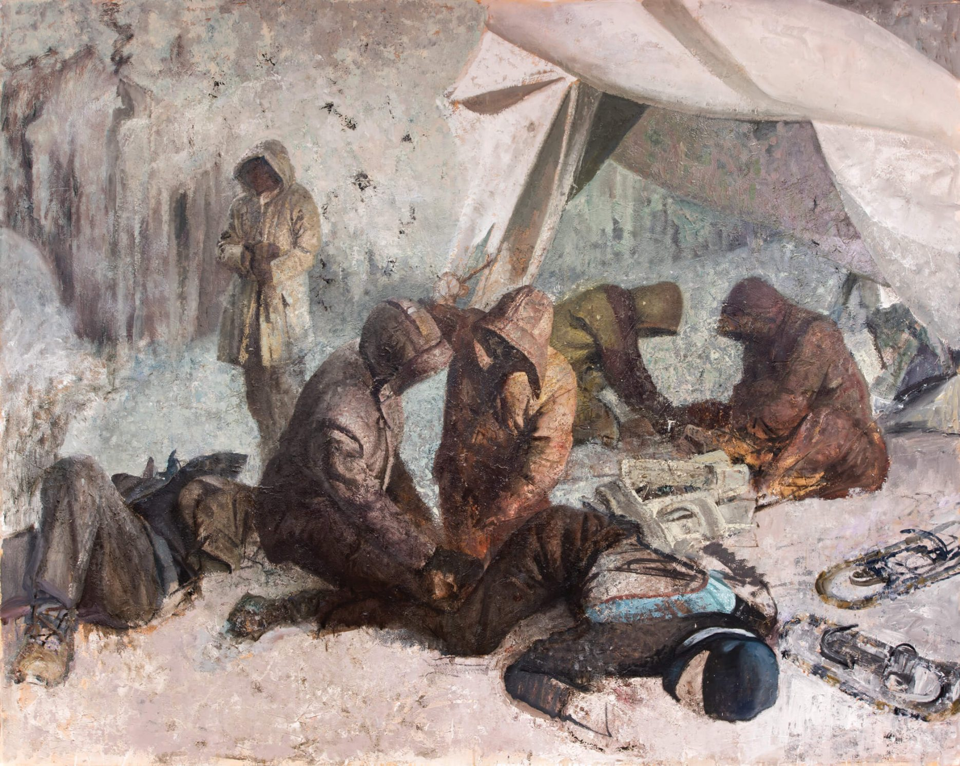Vincent Desiderio painting