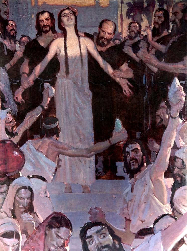 Watkiss painting Hypatia