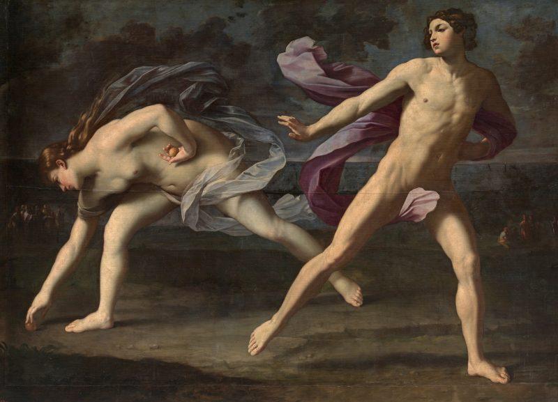 guido reni painting atalanta