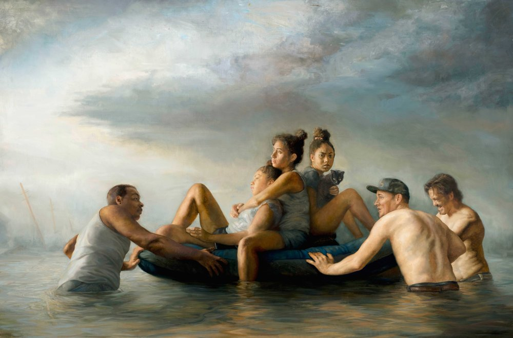 Jonathan Hodge painting