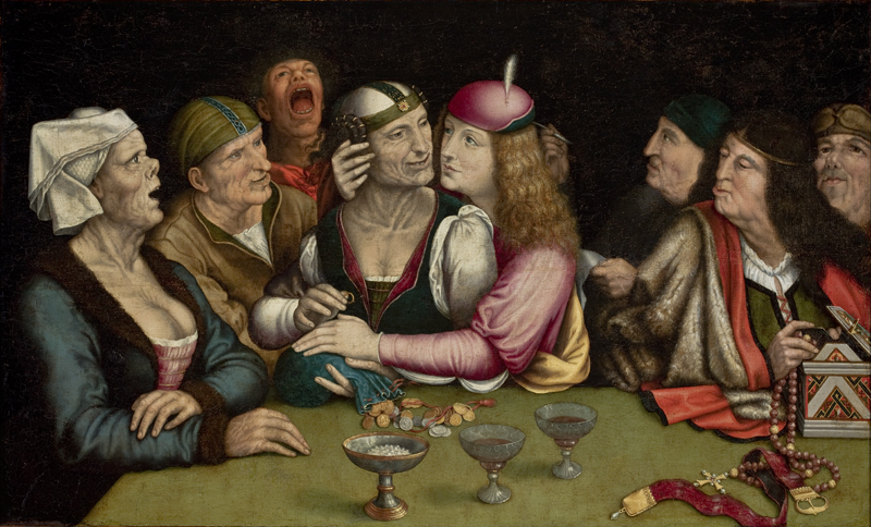 quentin matsys ill-matched marriage