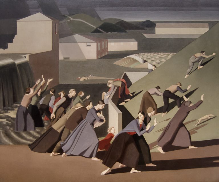Winifred Knights painting