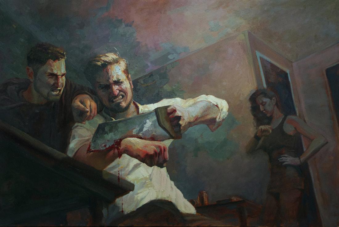 Lanny Markasky narrative painting