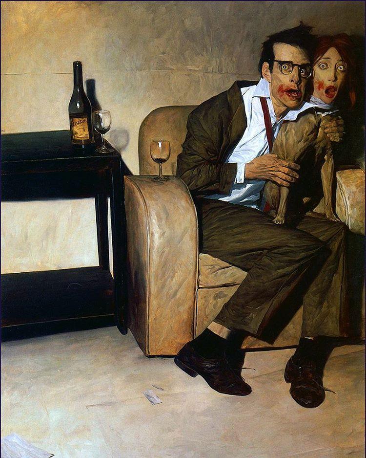 Phil Hale painting
