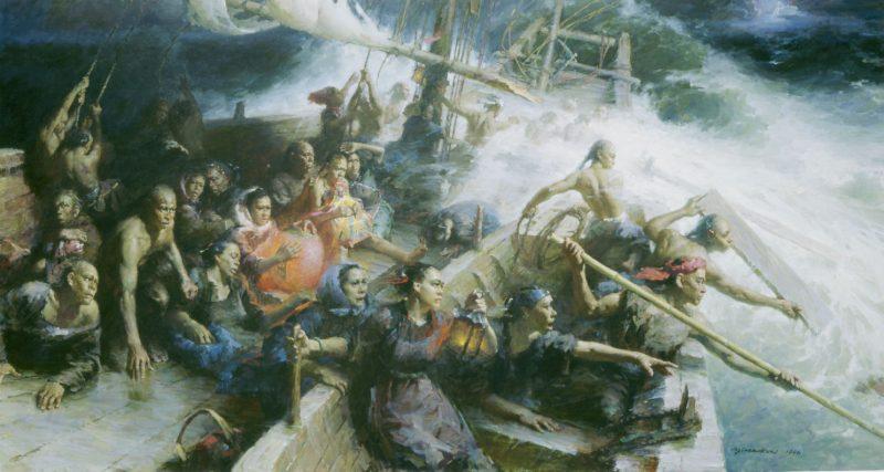 Yim Maukun painting