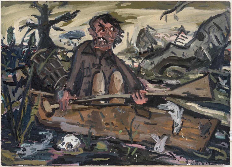 Dan Schein painting
