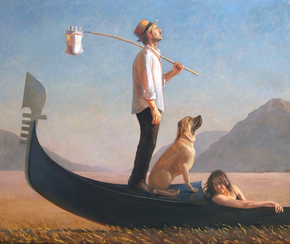 Melinda Borysevicz painting