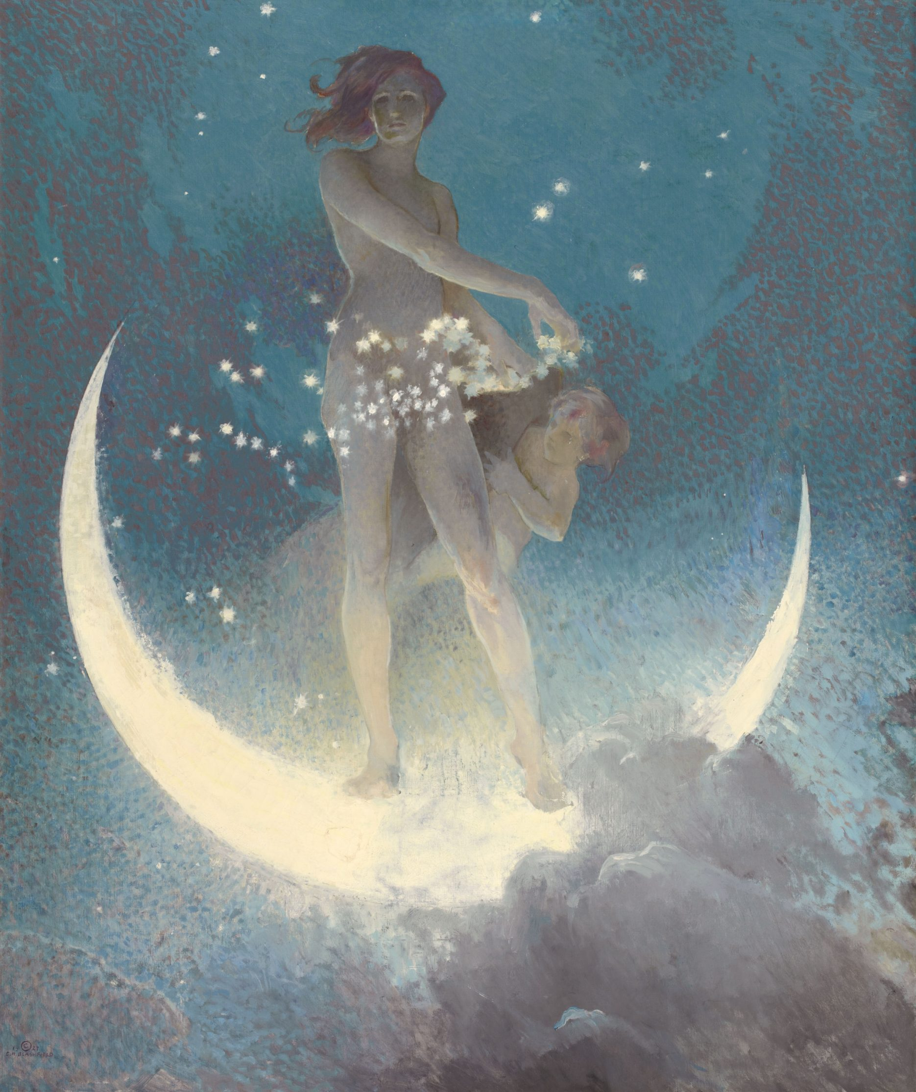 Edwin Blashfield painting