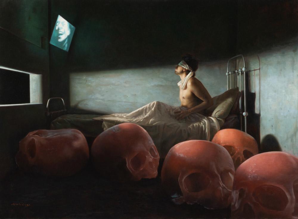Miguel Madariaga painting