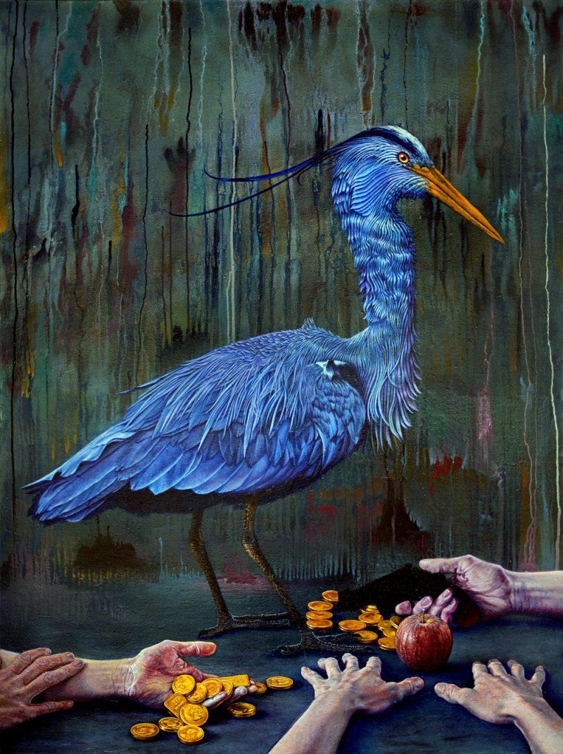Austin Eddy painting