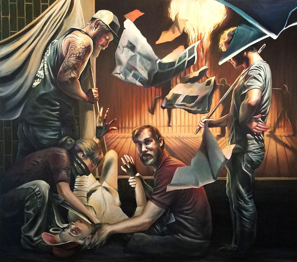 Jennifer Niswonger painting