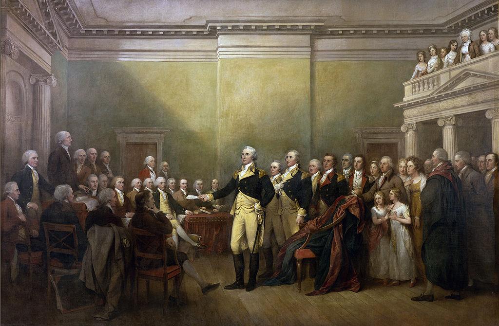 John Trumball painting