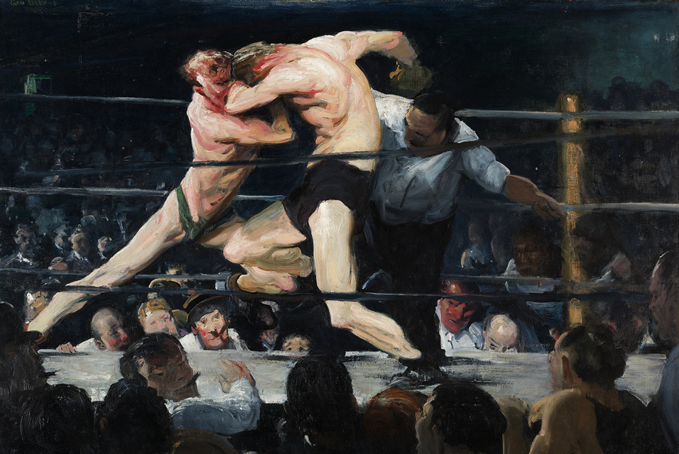 George Bellows painting