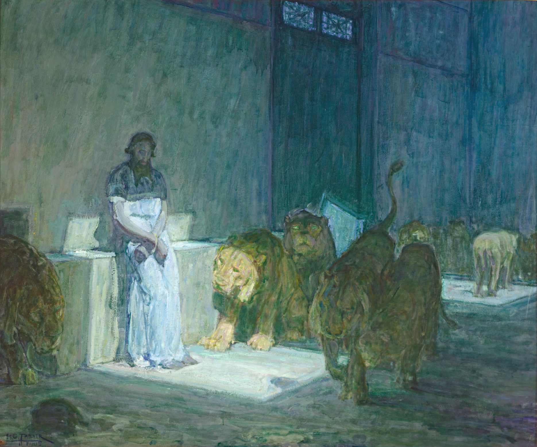 Henry Ossawa Tanner painting