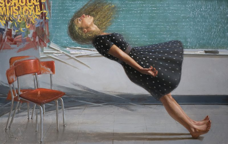 McGarren Flack painting
