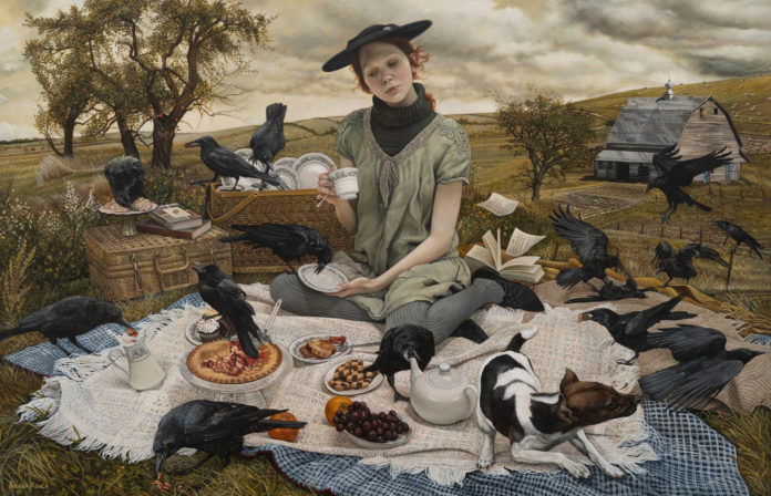 Andrea Kowch painting