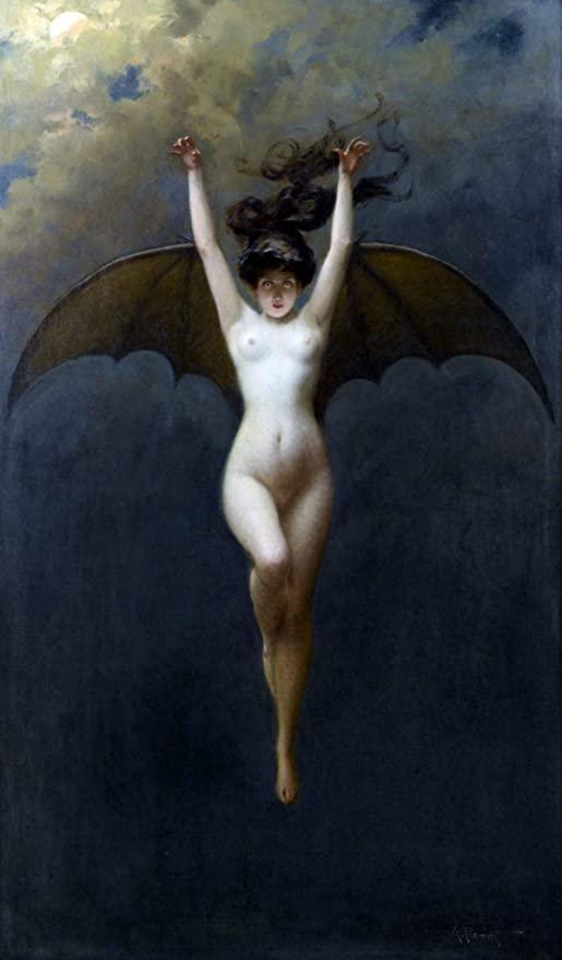 penot painting bat woman