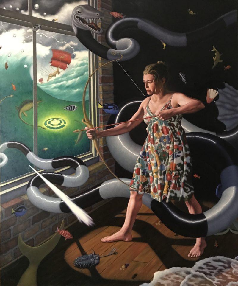 Steve Ohlrich painting