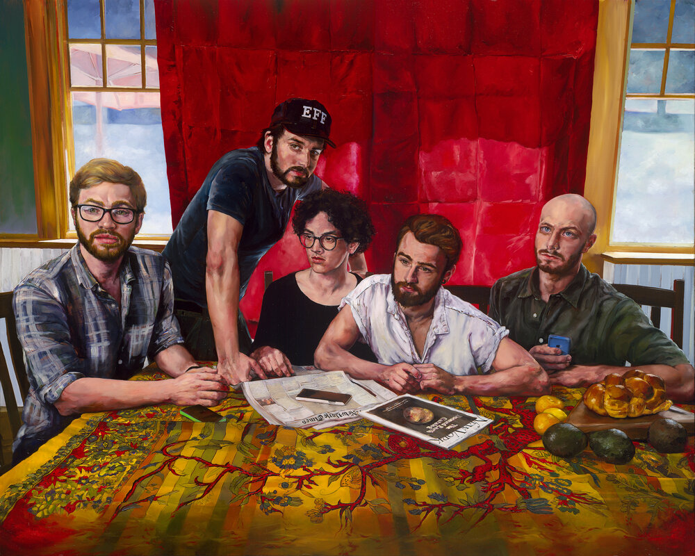 Sherri Wolfgang painting