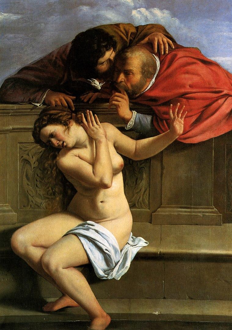 Artemsia Gentileschi painting