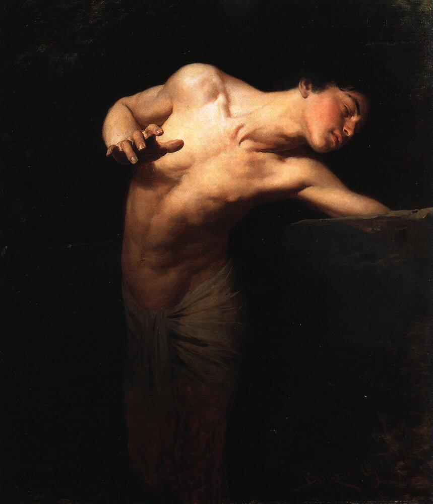 Gyula Benczur painting