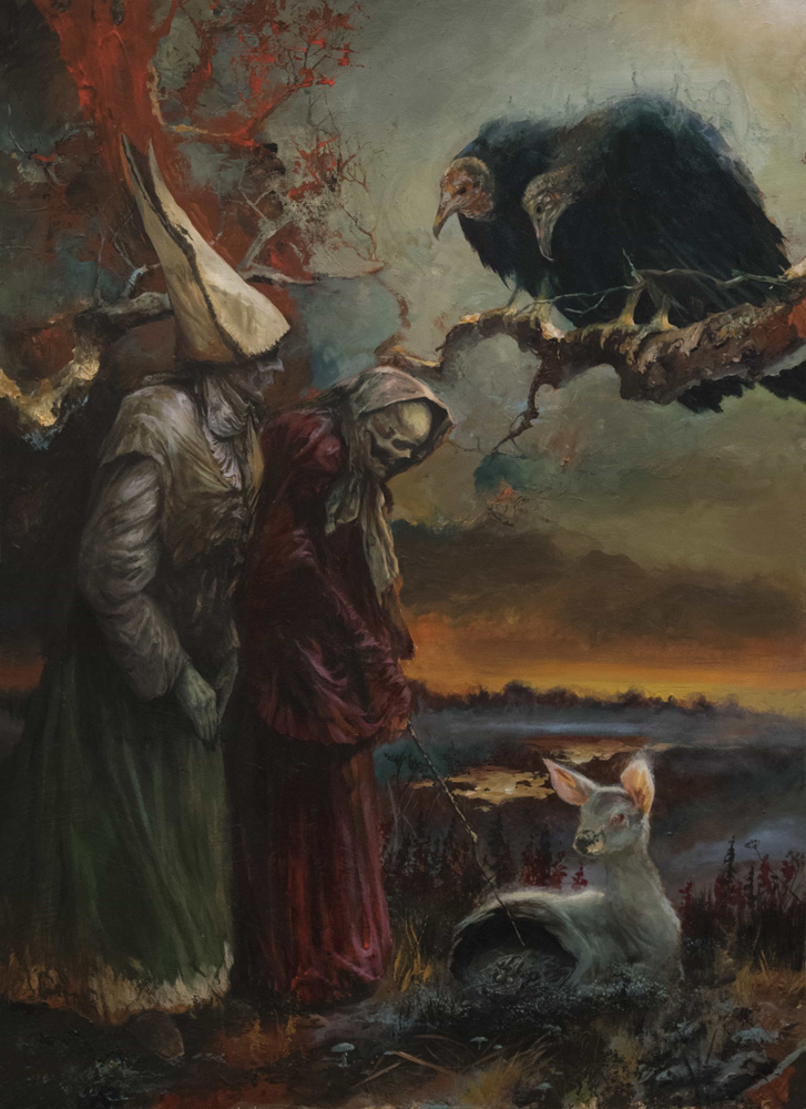 Adam Burke painting