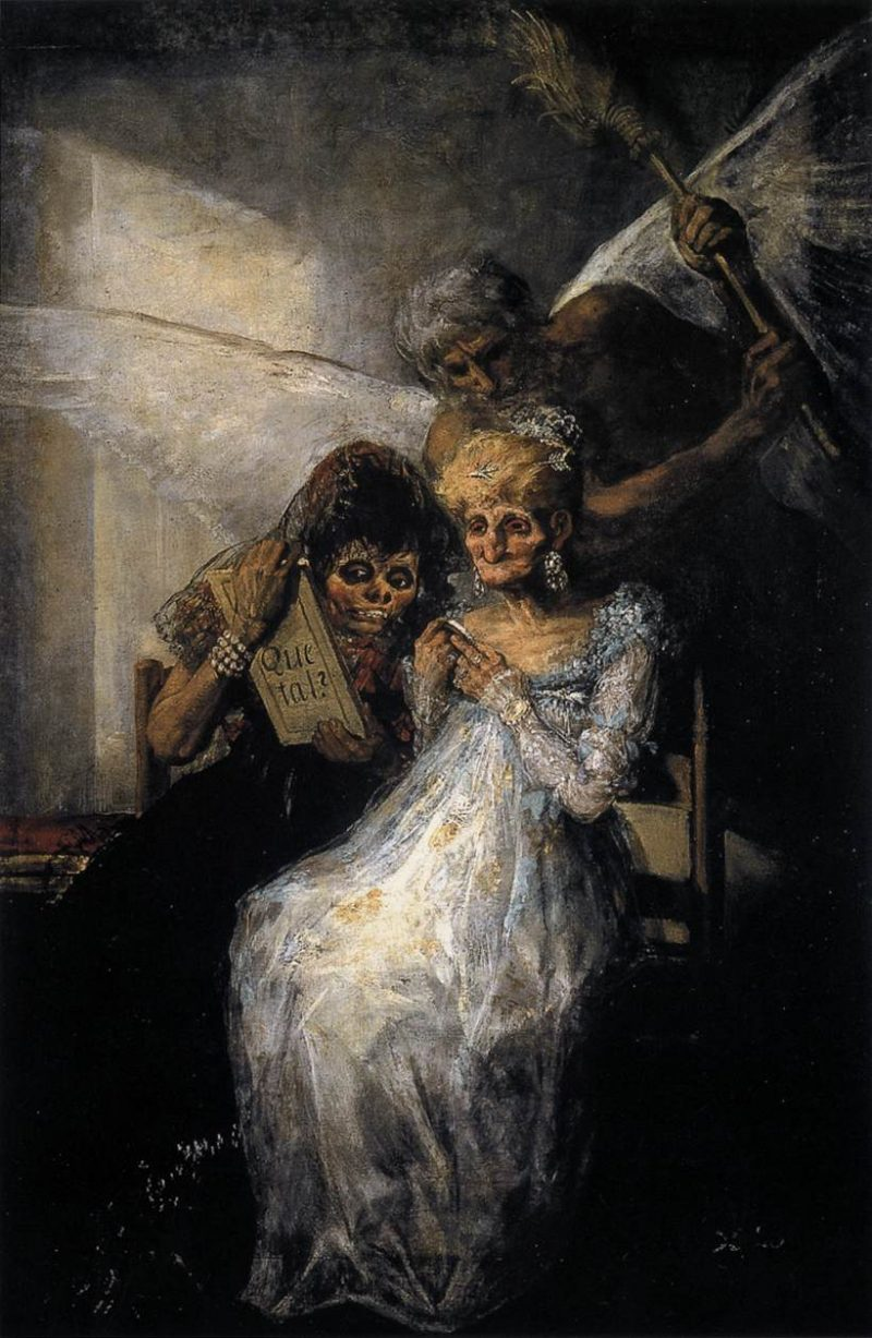 Goya Time and the Old Women