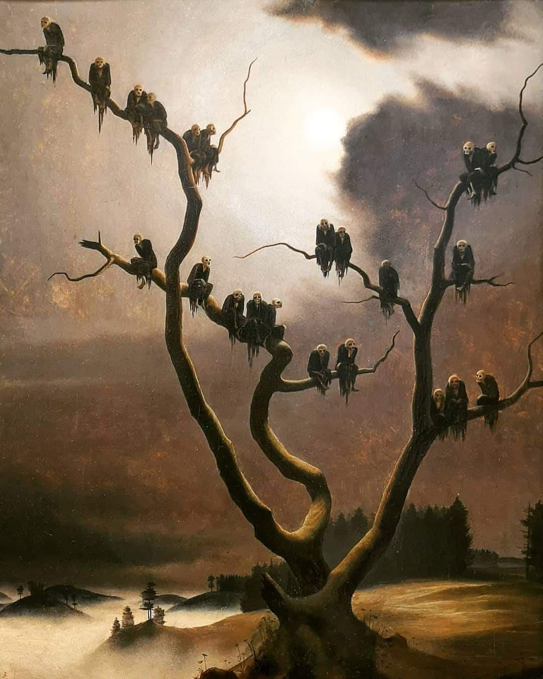 Ghosts on a Tree
