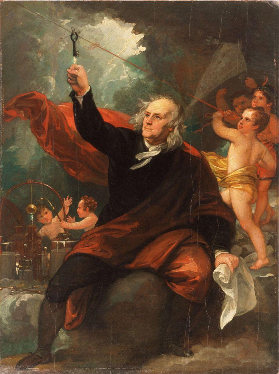 Benjamin Franklin experiment