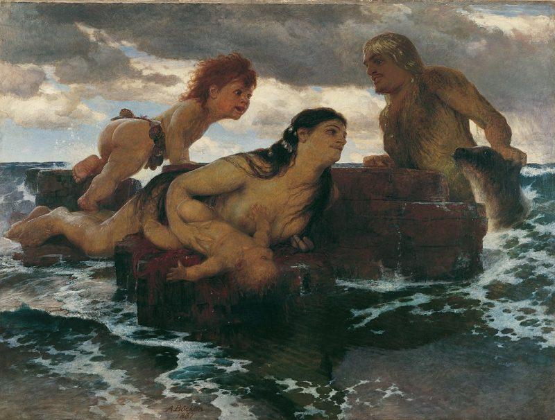 Bocklin painting Sea Idyll