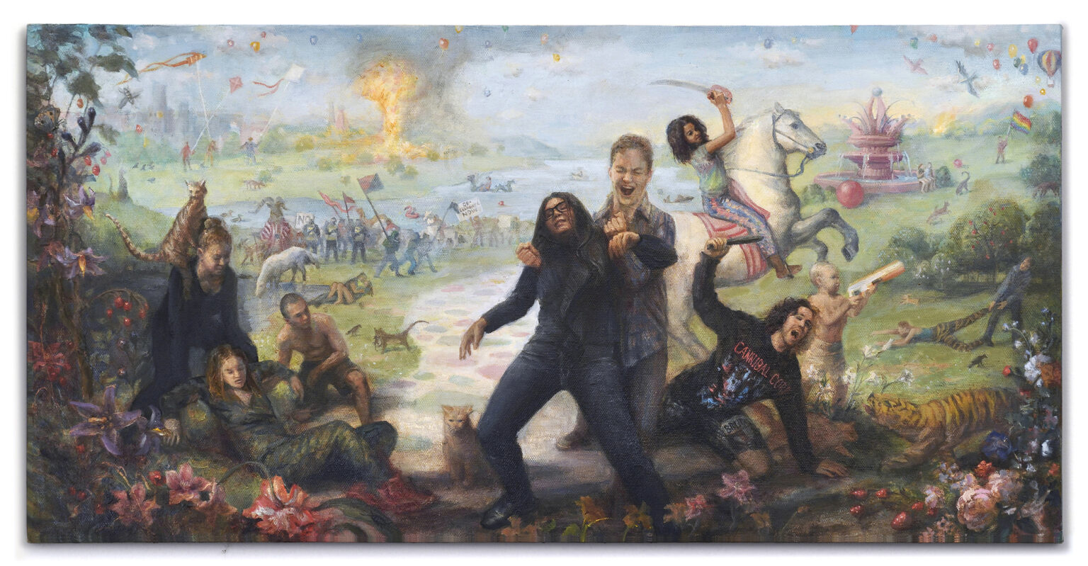 Kristy Gordon painting